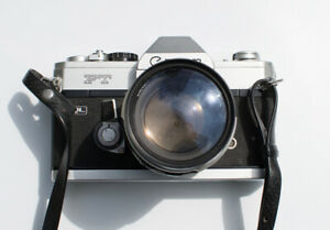 Canon FT QL 35mm SLR Film Camera with 50mm F/1.4 Lens