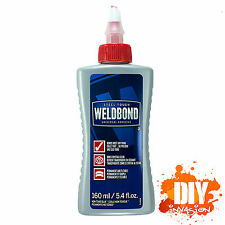 WELDBOND 160ml Adhesive Glue Universal All Purpose Tile Wood Glass Ceramic More