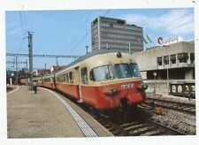 CPA PK AK PHOTO TRAIN CHEMIN DE FER LOCOMOTIVE D' EUROPE SNCB-SNCF-RAI-DB TEE SF