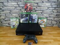 Xbox One Console Full set up including 5 great games Fully working fast dipatch