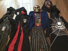 BUNDLE BOYS FANCY DRESS UP COSTUMES MASK  7-8 Yrs (STARWARS PIRATE, HALLOWEEN