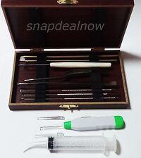 Tonsil Stone Remover PRIME KIT 8 TOOLS + LED Light + Syringe + USA SELLER