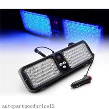 86 Blue LED Car SUV Sun Visor Emergency Warning Hazard Beacon Strobe Flash Light