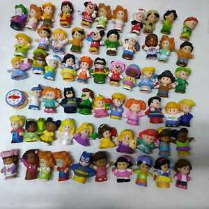 Lot/10 Randomly Fisher Price Little People 2'' Figures Dolls Baby Kids Toys