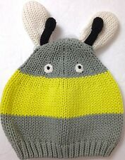 d802c047753 Baby Infant Boy Girl 3-6 mo. CRITTER INSECT BEANIE ANTENNAE Winter Knit