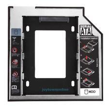 Universal 2.5 2nd 9.5mm SSD SDD HD SATA Hard Disk Drive HDD Caddy Adapter Bay