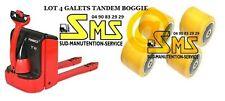 LOT 4 GALET 0039933603 85 80 85 12 mm TRANSPALETTE FENWICK T16 T18 T20 >N°360R