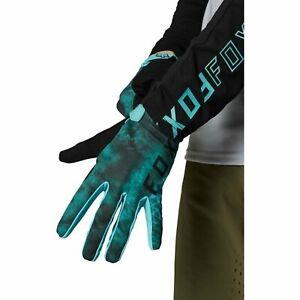 Fox Racing Youth Ranger Glove Teal Gloves Boy Bike MTB Downhill Dirt S
