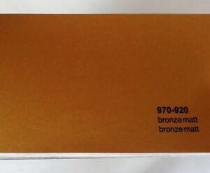 Oracal Premium Wrap Rapid Air Matt Bronze 970-920 Vinyl Car 3m x 840mm