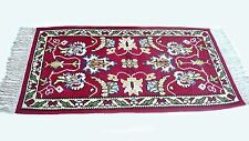 "Antique vintage Persian Kurdish handmade  kilim rug  (34"" x 60"") pure wool  # 56"