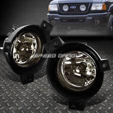 FOR 01-03 FORD RANGER SMOKE LENS FRONT BUMPER DRIVING FOG LIGHT REPLACEMENT LAMP