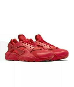 Nike Air Huarache Mens Size Running Shoes Triple Red 318429 660