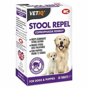 Vetiq Stool Repel Tablets For Dogs & Puppies - 2 x 30 PACK [MCH0250]