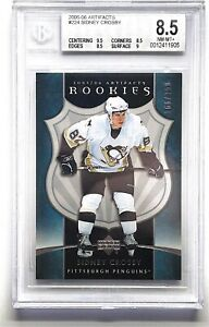 2005-06 Artifacts #224 Sidney Crosby Rookie BGS 8.5  /750