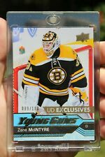 2016-17 Zane McIntyre UD Young Guns Exclusives #496 Ser: 089/100 Rookie RC