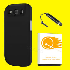 High Power 7500mAh Extended Battery Black Cover for Samsung Galaxy S3 i535 I9300