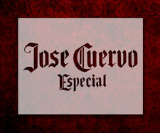 "Jose Cuervo Tequila 8.5"" x 11"" Custom Stencil FAST FREE SHIPPING (661)"