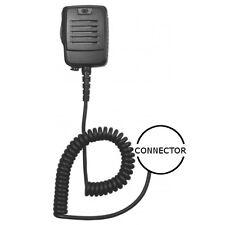 Heavy Duty Lapel IP55 Speaker Mic with 3.5mm Jack for Motorola 2-Pin Handhelds
