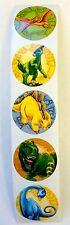 100 Dinosaur Dino Stickers Party Favors Teacher Supply T-Rex Stegasaurus