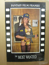 "vintage "" The Most wanted"" Poster fantasy film frames 1990 1694"