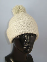 PRINTED INSTRUCTIONS- CHUNKY UNISEX BIG BOBBLE DOUBLE MOSS STITCH BEANIE