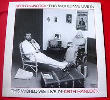 Keith Hancock ce monde où nous vivons LP Greenwich Village Gregson/Collister Vinyle