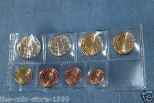 Kms 1 Cent - 2 euro monedas de curso conjunto Luxemburgo 2014 lose banco recién papel UNC!!!