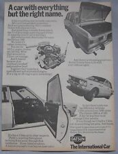 1970 Datsun 1800 Original advert