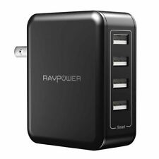 40W Wall Charger 4-Port USB Travel Charging Station 8A Multi-port Fast Desktop