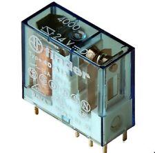 Relais 24V/DC, Finder, Typ: 40.615, 1 Wechsler, 250VAC/16Amp.,1 St.