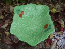 Vintage Beswick Ware Pottery Green Lettuce Leaf & Red Tomato Dish
