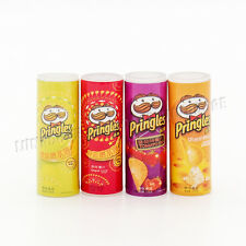 4PCS Chips Miniature Potato Food Snack 1:12 Scale Dollhouse Accessory Decor Gift