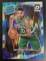 JAYSON TATUM Optic SHOCK Holo Foil Prizm SP ROOKIE Card RC #198 PSA 9/10?