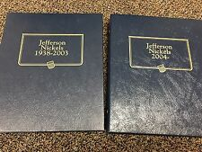 1938-2013 Jefferson Nickels In Albums ALL BU & PROOF **217 COINS** Inc SILVER 5c