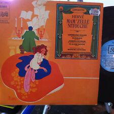 L'Operette Herve Mam'Zelle Nitouche Marcel Cariven Pathe EMI C 051 10844