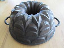 Schöne alte Gugelhupfform Backform Kuchenform Gusseisen  Bundt Cake  Antik