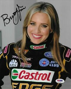 Brittany Force Signed 8x10 Photo Autographed PSA/DNA COA NHRA AB79897