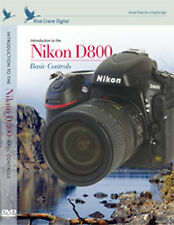 Blue Crane Nikon D800 Digital Camera Training DVD