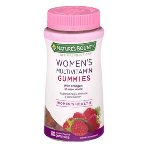 Nature's Bounty Women's Multivitamin Gummies, Raspberry, 80 Ct