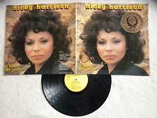 """LP NICKY HARRISON """"Le Blues dans la Voix""""André Ceccareli KRISTA MUSIC KR 27902µ"""