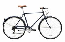 REID GENTS 700c VINTAGE ROADSTER NAVY BLUE 58CM MENS BICYCLE ROAD BIKE