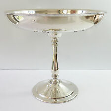 Vintage Newcraft Silverplate Fruit Serving Stand Dish/Bowl