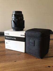 Sigma 35mm 1.4 Art canon
