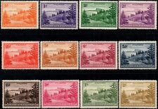 "Norfolk Islands 1947 ""Bull Bay"" Values  SG1/12 Mint (Hinged)"
