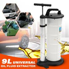 Manual 9 Liter Oil Fluid Changer Vacuum Extractor Pump Transfer Tank Remover