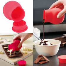 Silicone chocolate melting pot, Egg Yolk Separator, Ceramic Peeler, Pot Drainer