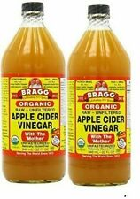 Bragg - Organic, Apple Cider Vinegar with Mother - Pack of 2/Bottles 32 fl.oz. -