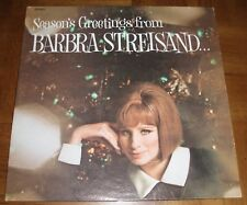 BARBRA STREISAND LP -MAXWELL HOUSE - SEASON'S GREETINGS FROM BARBRA S..& FRIENDS