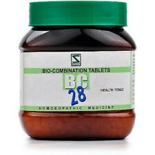 Dr Willmar Schwabe India Bio-Combination (BC 28) Tablet 1 Bottle of 550 gm