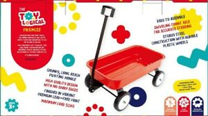 NEW Toylogical Red Wagon Stow & Go from Mr Toys